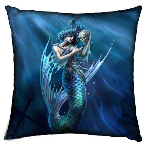 NEMESIS NOW Mythical Sailors Ruin Cushion by Anne Stokes